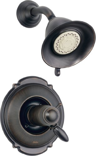 Delta Faucet T17T255-RB Victorian TempAssureR 17T Series Shower Trim, Venetian (Delta Victorian Wall)