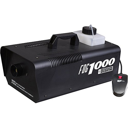 Fog Machines (Heavy Duty 1000 Watt Fog Machine W/Remote - Impressive 8,000 Cubic ft. per minute)