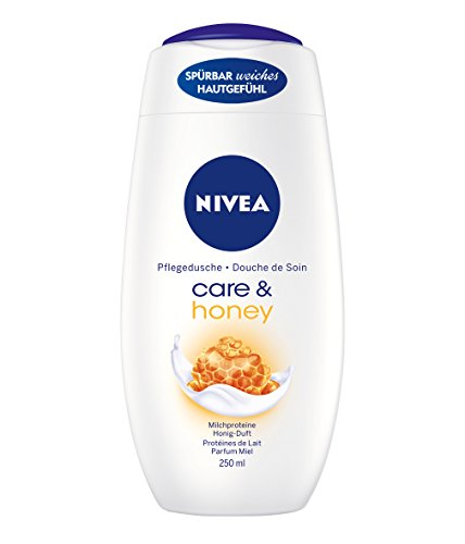 Nivea Care & Honey Cremedusche, Duschgel, 3er Pack (3 x 250ml)