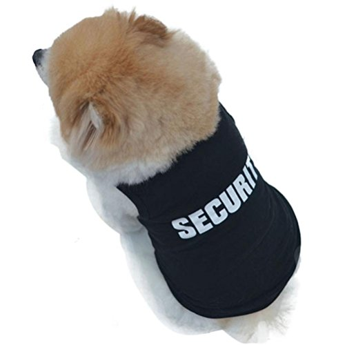 Cotton Cold Weather Dog Vest Coats Jackets Sweater for Small Dogs GOTD (M, Black)