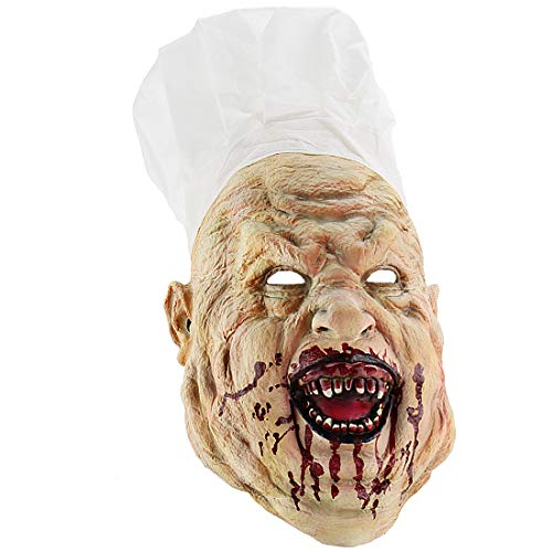 Xiao Chou Ri Ji Cosplay Scary Halloween Costume Party Props Bloody nighthide Fork Monster -