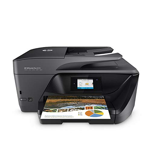 HP OfficeJet Pro 6978 All-in-One Wireless Printer with Mobile Printing, HP Instant Ink & Amazon Dash Replenishment Ready (T0F29A) (Renewed) (Hp Photosmart Premium All In One Printer)