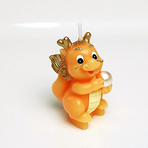 Cartoon Zodiac Dragon Charming Gifts Party Candles Smokeless Candles Birthday Candles for Baby Shower and Wedding Favor Keepsake Favor (10)
