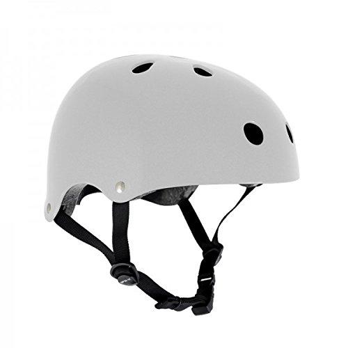 Longboard Helm Schutzausr/üstung Skateboard Helm Bmx Wei/ß Inliner SFR Skateboard//Scooter // Inliner//Rollschuh Schutz Helm