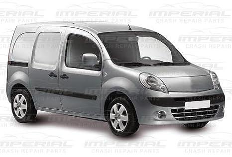 Aftermarket Renault Kangoo 2009 - 2013 parachoques trasero moldura Juego Set - Con agujeros de sensor - con textura no cara: Amazon.es: Coche y moto