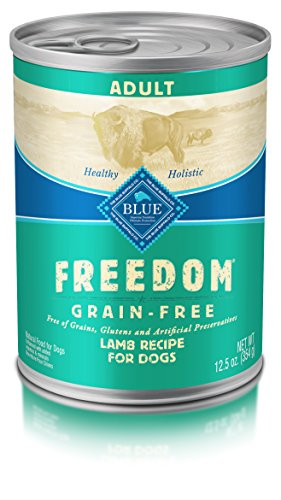 BLUE Freedom Adult Grain Free Lamb Wet Dog Food 12.5oz