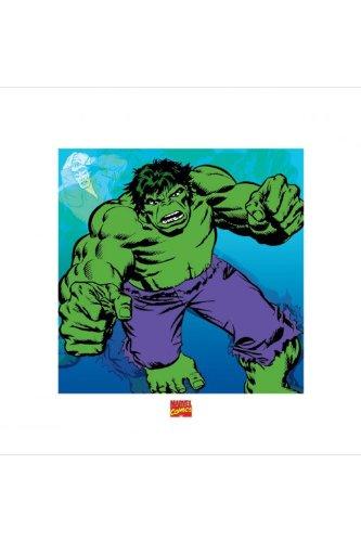 Hulk - púrpura pantalones cortos de impresión - 40 x 40 cm ...