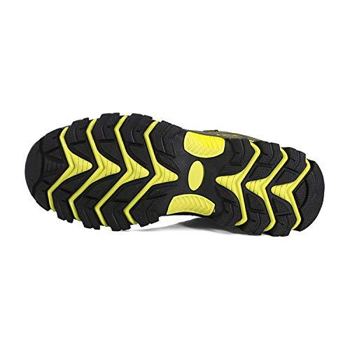 WOWEI Chaussures de Randonnée en Plein Air Imperméable Respirant Antidérapant Bottes de Trekking Promenades Voyages… 4