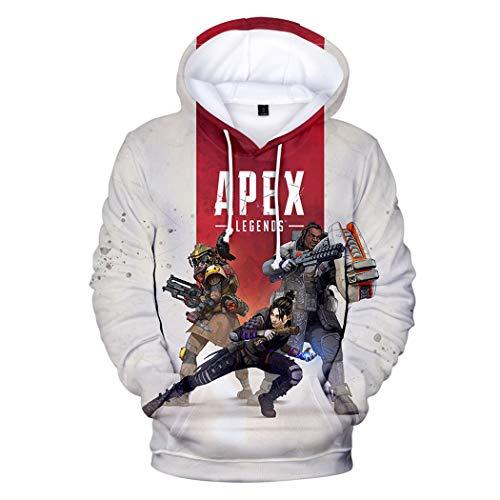 Legends À Capuche Longue Casual 3d Pzj Beige2 Impression Mode Hoodies Apex Sweat Manche Pullover Unisexe Sweatshirts 0aqqwS5x