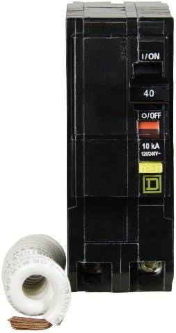 Square D by Schneider Electric QO240GFICP QO 40-Amp Two-Pole GFCI Breaker