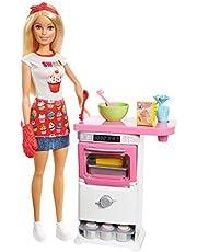 Barbie - (Mattel Fhp57) Mutfakta Oyun Seti