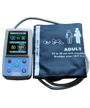 Ambulatory Blood Pressure Monitor System Abpm50+3 Cuffs