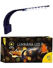 Luminária Soma LED X5 10W para Aquário Branca e Azul - 110V