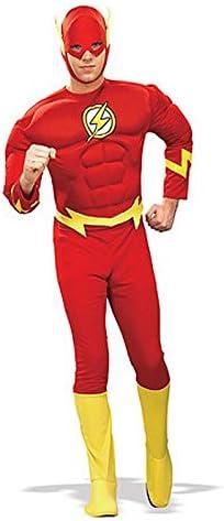 Close Up The Flash Deluxe Disfraz Rojo Flash (para Adultos ...