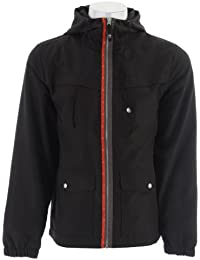 Trent Windbreaker Graphite Black Mens