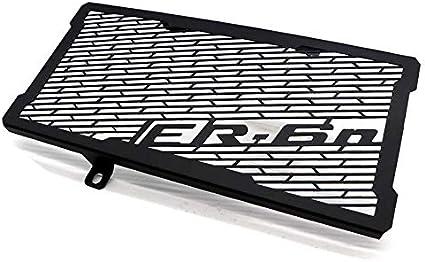 RONSHIN Auto pour Accessoires de Moto Modification de la Moto Protecteur de radiateur Protecteur Grille Grill Cover pour Kawasaki ER-6N 12-16 Noir
