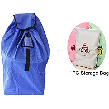 Car Seat Travel Bag Cover Infant And Baby Carrier Airport Gate Check With An Extra Foldable Storage