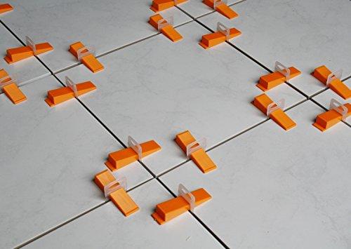 Verlegefix Fliesen Nivelliersystem 1000 Laschen Kompatibel zu unseren anderen Systemen