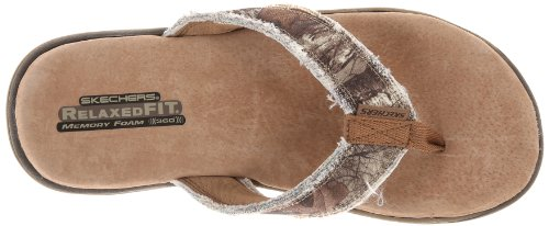 3c60eaecd268 Skechers USA Men s Supreme Cayuga Relaxed Fit 360 Flip Flop