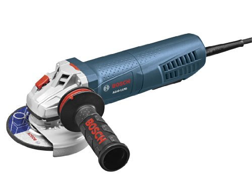 Bosch AG40-11PD 4-1/2-Inch High-Performance Angle Grinder with No Lock-on Paddle Switch, 11-Amp by Bosch