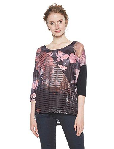 T Ts Donna 3044 belgica Desigual Glamour shirt rosa PExqz1q