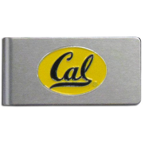 NCAA California Golden Bears Brushed Money Clip