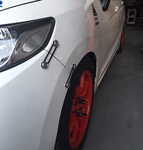 Leadrise Car//Truck Black Aluminum Quick Release Fastener Kit For Car Bumper Trunk Hatch Screw ZZ0024