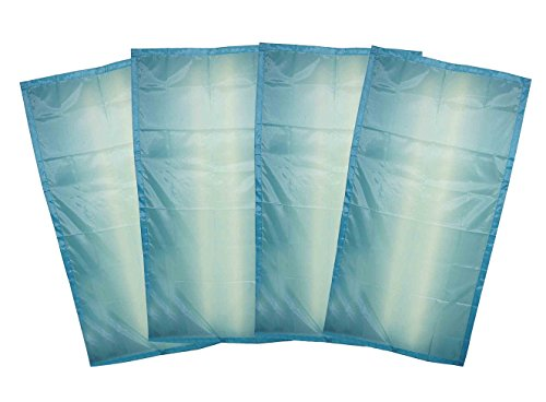 fluorescent light covers cozy shades softening light filter for game room classroom office kids bedrooms or hospital room 48 x 24 inches set of 4