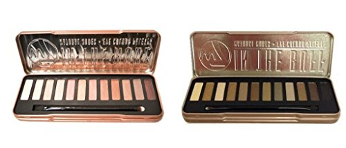 W7 In The Nude Eye Shadow Palette & Colour Me Buff Eye Shadow Palette (Nude Buff)