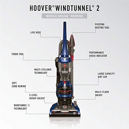 Hoover Whole House Rewind Upright UH71250