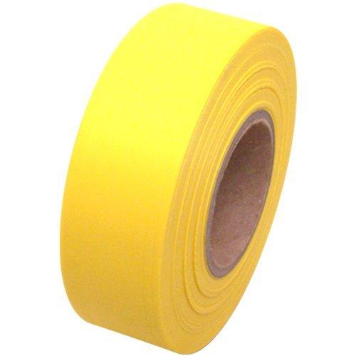 Yellow Flagging Tape - Flagging Tape 1-3/16