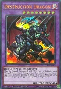 Destruction Dragon - LC06-EN003 - Ultra Rare - Limited Edition - Legendary Collection Kaiba Mega Pack (Limited Edition) (Ssa Collection)