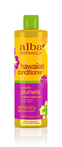 Alba Botanica Conditioner (Alba Botanica Hawaiian, Plumeria Conditioner, 12 Ounce)