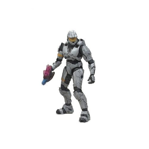 [McFarlane Toys - Halo 3 série 3 figurine Spartan Soldier Mark VI (Silver) 15 cm] (Spartan Mark)