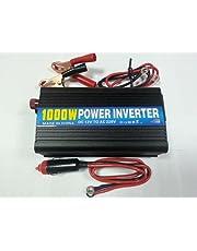 مولد الكهرباء 1000 وات من بطارية 12 فولت الى 220 فولت للسيارات او المنازل - انفرتر– و مخرج يو اس بى