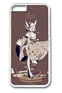Anime Girl 05 Slim Hard Cover for iPhone 6 Case (4.7 inch) PC Transparent Cases by mcsharks
