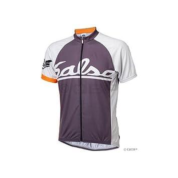 1375c8dd1 Salsa Squadron Cycling Jersey  Gray  LG  Amazon.co.uk  Sports   Outdoors
