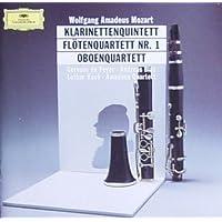 Mozart: Clarinet Quintet / Flute Quartet No. 1 / Oboe Quartet