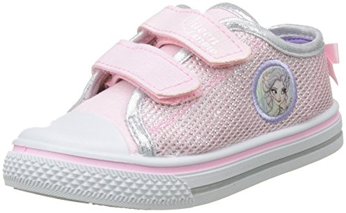 Disney Girls Kids Low Sneakers, Zapatillas Para Niñas Rosa (Pink)