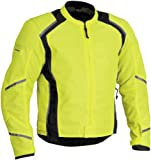 Firstgear Men's Mesh Tex DayGlo Jacket, 2XL - Tall