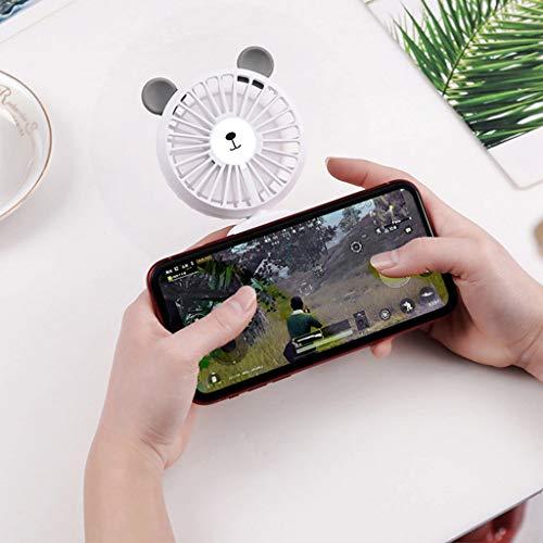 Amazon.com: ♚Rendodon♚ Fan, Bear Shape Portable Fan, Mini Portable USB Rechargeable Hand Held Air Conditioner Summer Cooler Fan (Blue): Toys & Games