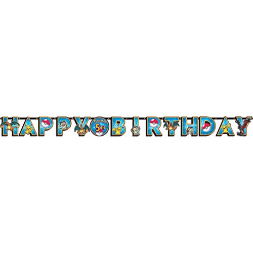 American Greetings Pokemon Add-an-Age Birthday Party Banner (Discontinued by (Good Fast Halloween Costume Ideas)