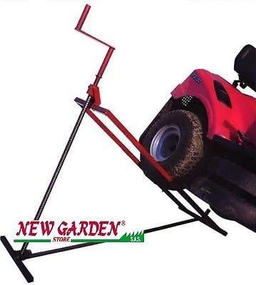 Elevador Tractor cortacésped manual Alcance Hasta 205 kg 320628 ...