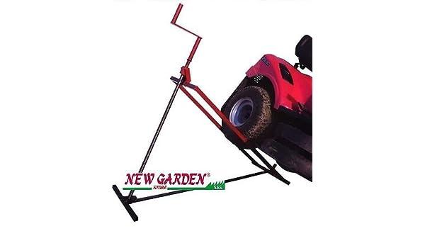 Elevador Tractor cortacésped manual Alcance Hasta 205 kg ...