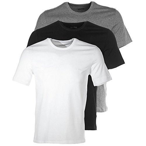 Boss Crew 3 Pack Mens T-Shirt - Crew T-shirt Boss