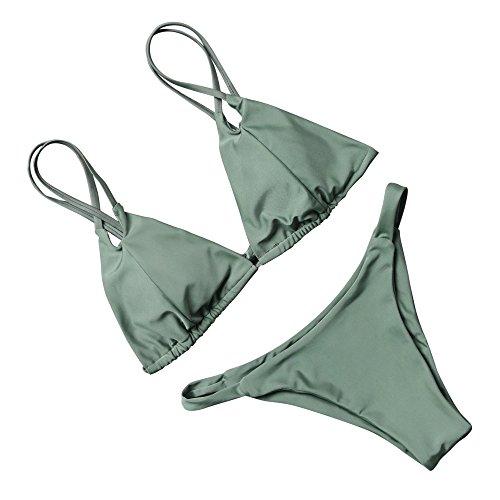 RUUHEE Women Bikini Brazilian Bottom