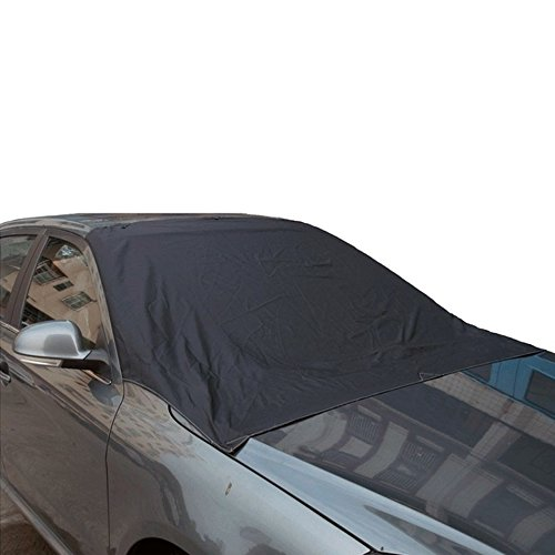 IDS Home SUV Car Truck Windshield Snow Cover Protector Ice Snow Removal Protector, for Both Winter Summer