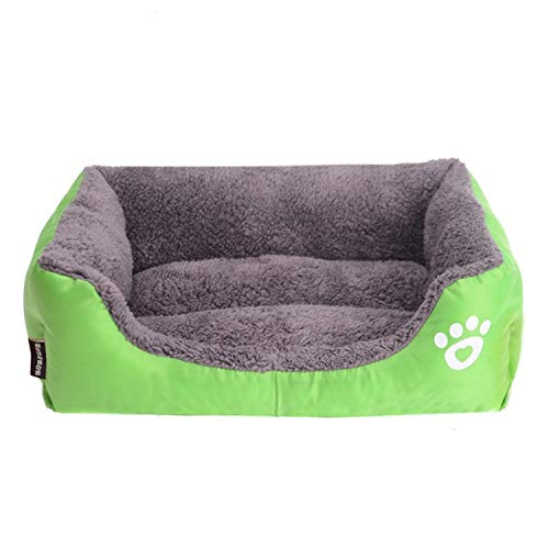 Green L Green L Amio Pet Bed, Sofa Bed, Cat Litter, Can Be Washed With Water,Easy To Clean (color   Green, Size   L)
