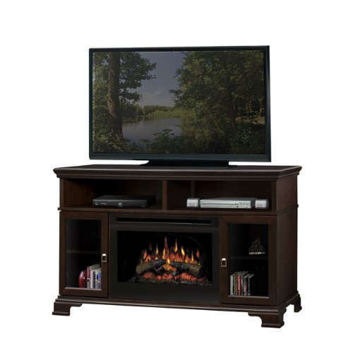 Cheap Dimplex Brookings Electric Fireplace Media Console in Espresso Black Friday & Cyber Monday 2019