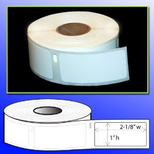 BPA FREE OfficeSmartLabels 1 x 2-1/8 Multipurpose Labels (500 labels) Dymo 30336 Compatible for DYMO LabelWriters 330 400 450 Twin Turbo Duo 4XL Printer